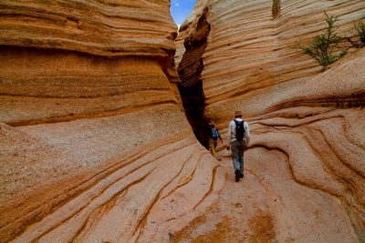Slot canyon tent rocks wilderness medicine travel CME