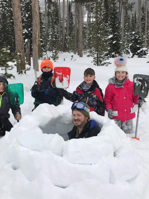 winter kids survival wilderness medicine travel CME