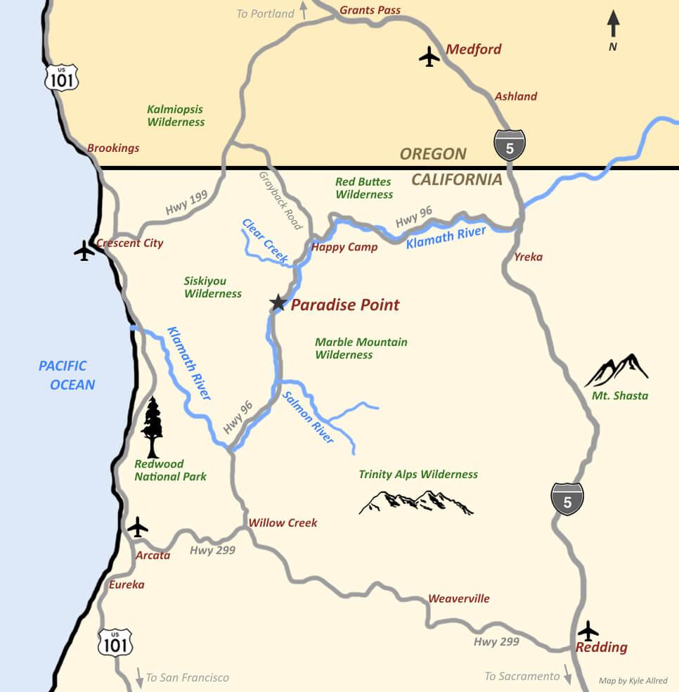 Marble Wilderness Mt. Shasta Medicine Travel CME
