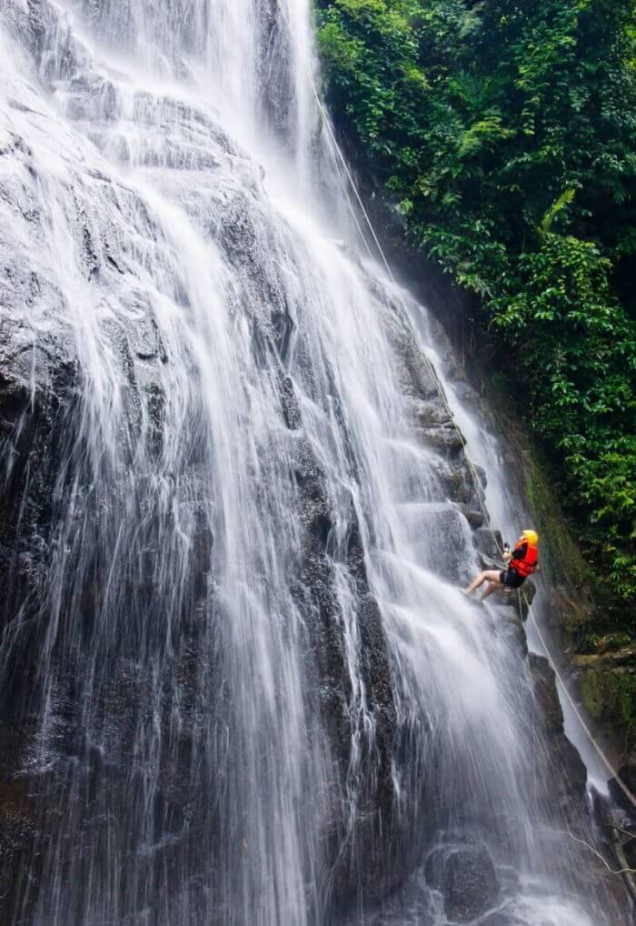 Waterfall Rapell Wilderness Medicine CME Course