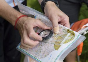 Map compass navigation wilderness survival CME course