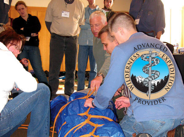 AWEP wilderness medicine certification course