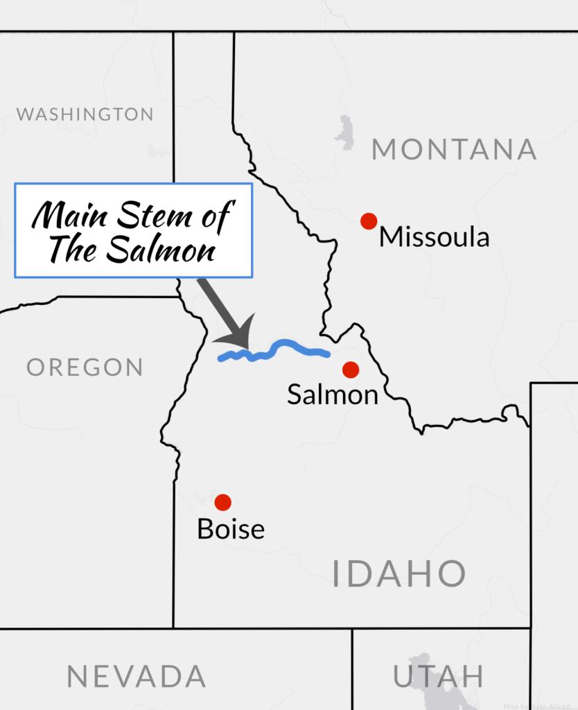 Main Stem of Salmon Rafting